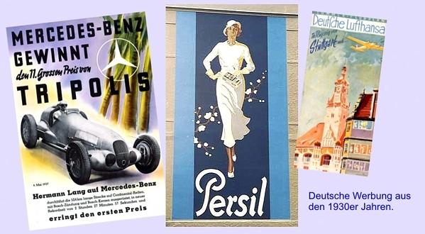 Publicidad - década de 1930