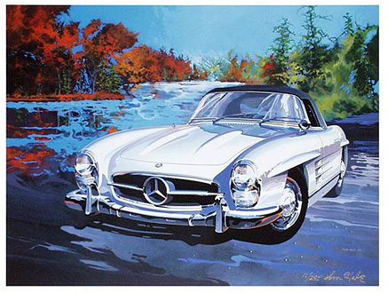 300 SL 1958 US-Illustration