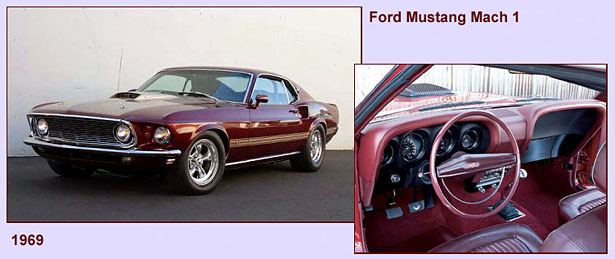 Ford Mustang Mach1 - 1969